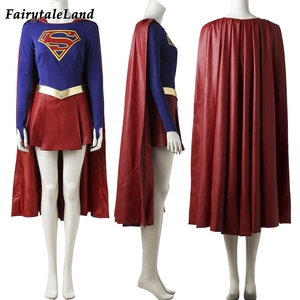 Image 2 - Supergirl costume Carnival cosplay party fancy costumes TV show Supergirl cosplay suit superhero costume jumpsuit custom made