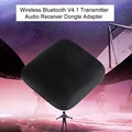 Q16 Wireless Bluetooth V4.1 Transmitter Portable Bluetooth Audio Player Music Receiver Dongle Adapter 3.5mm Black