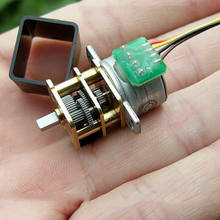 Micro 15MM Precision Reduction Gearbox DC 5V 2-Phase 4-Wire Small Mini Full Metal Gear Reducer Stepper Motor DIY Robot Car Toy(China)
