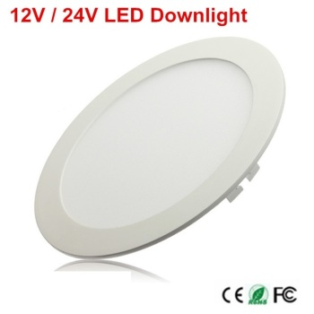1 sztuk 12 V 24 V oświetlenie panelowe led 3 W 6 W 9 W 12 W 15 W 25 W oświetlenie panelowe led ciepły biały zimny biały 2835 SMD led typu downlight panel oświetleniowy ing tanie i dobre opinie Pokrętło przełącznika Foyer UN-1 WHITE Aluminium 12V-24V