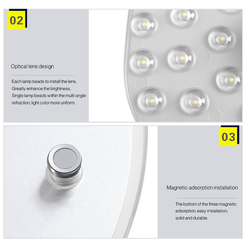 12w 18w 24w 32w Led Ceiling Lamp Ac220v Super Bright Leds Plate Brighter Lighting With Multiple White Color Light Source Replacement Energy Saving Home In Bulbs Tubes From