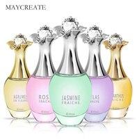MayCreate 40ml Women Perfume Fresh Elegant Lasting Flower Fruits Fragrance Makeup Female Parfum Women Spray Glass