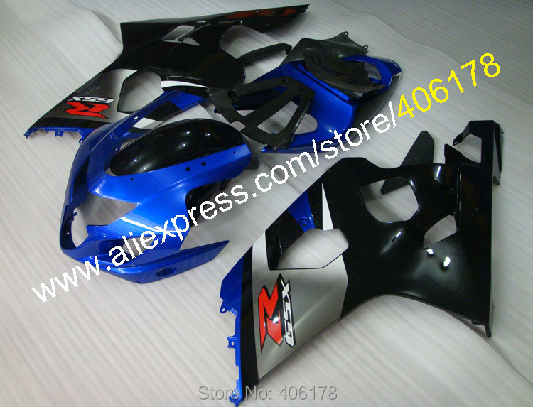 Motorcycle parts For GSX-R <font><b>600</b></font> 750 <font><b>04</b></font> 05 <font><b>GSXR</b></font> <font><b>600</b></font> 2004 GSXR600 2005 k4 ABS <font><b>fairing</b></font> <font><b>kit</b></font> (Injection molding) image