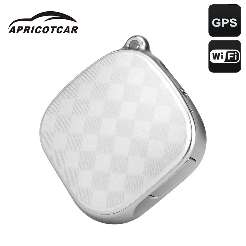 Mini GPS Trackers for Children Pet Children Old Luggage Two-way Call Tracker Long Standby with SOS Button wiwf