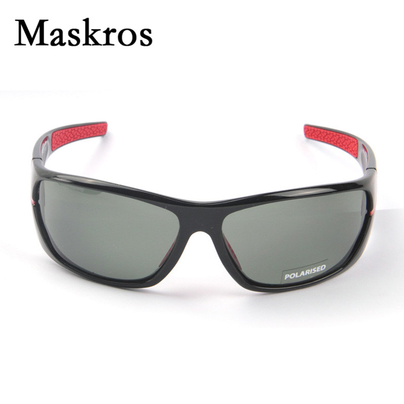06a3d2378b8 Maskros best quality HD polarized men s sunglasses night driving polarizing  glasses for vision male fishing goggles man uv400-in Sunglasses from  Apparel ...