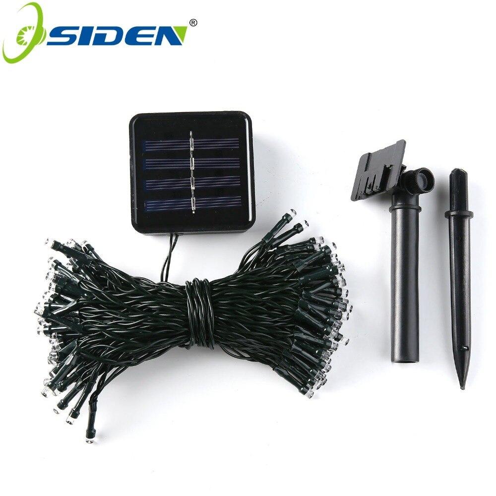 Impermeable LED Solar String Light 5M 12M 22M Hada Solar String Light - Iluminación exterior - foto 2
