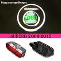 2x LED porta passo cortesia projetor laser de luz Para Skoda Superb 2009-2015
