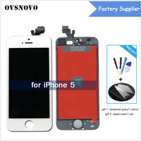 AAA Quality Screen For Apple IPhone 5 5G A1428 A1429 A1442 LCD Display Touch Screen Assembly