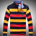 2016 Brand Clothing Sweater men Top Quality Tace & Shark Sweater business style pullover mens striped sweaters shark sweaterT651