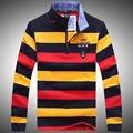 2016 tace & shark suéter arropa el suéter de los hombres de calidad superior de la marca de estilo de negocios mens suéter suéteres de rayas shark sweatert651