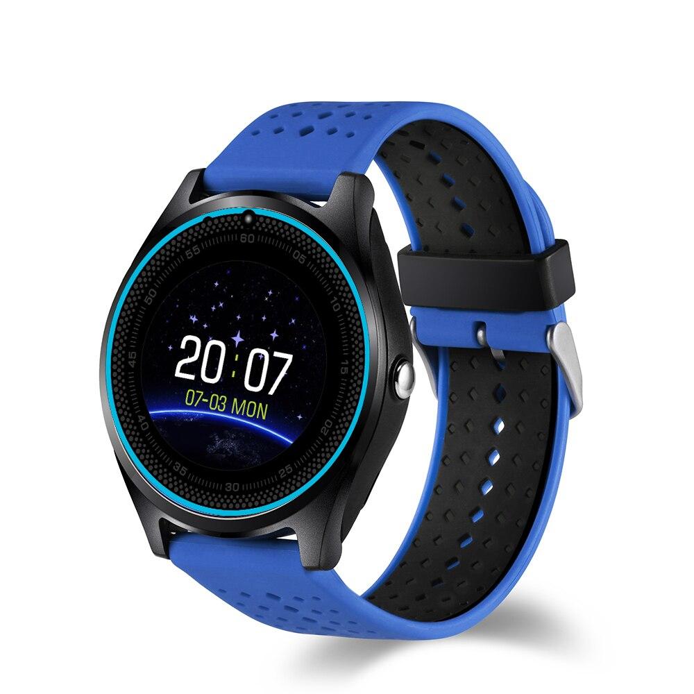 EnohpLX Bluetooth Smart Watch V9 DZ09 With Camera Smartwatch Pedometer Health Sport MP3 Clock Hours Men Women Smartwatch For And