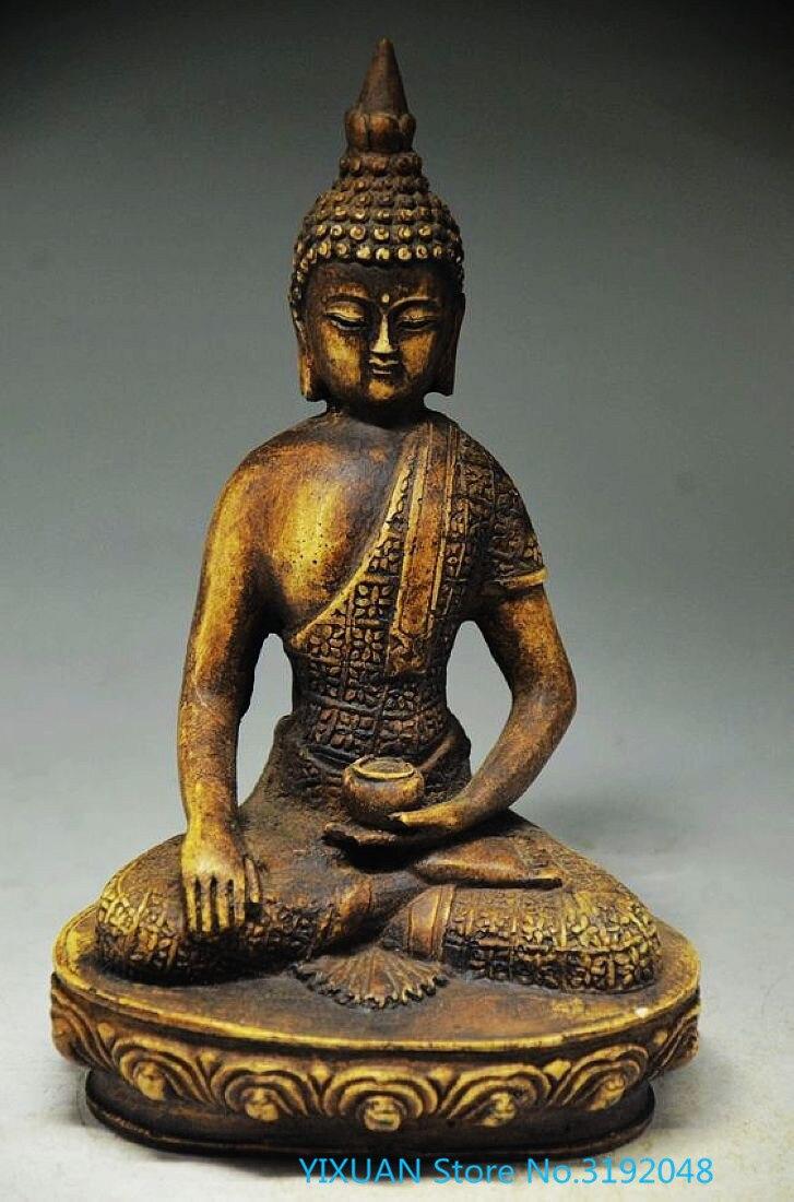 Le nouveau exquis Chinois antique pierre artisanat sculpture décoration sculpture artisanat-Bouddha,