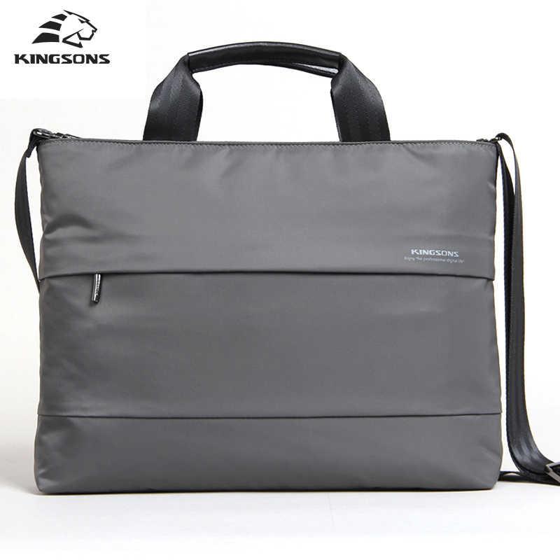 Kingson صدمات حقيبة لاب توب 15.6 موضة الأعمال حقيبة يد للرجال دفتر حقيبة والنساء 2017 Mochila حقيبة كمبيوتر محمول