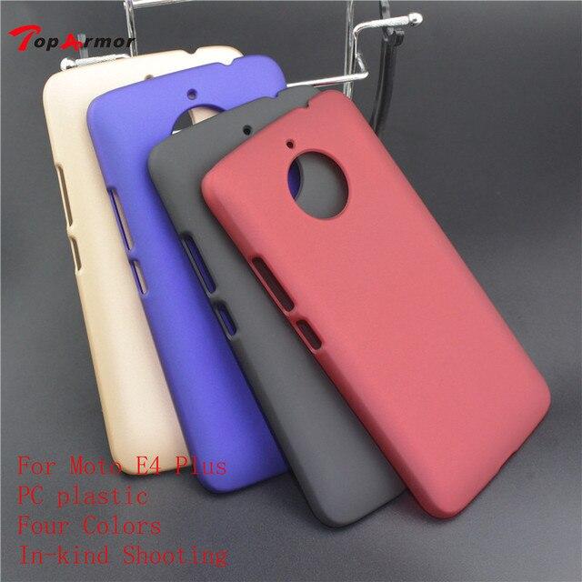 brand new 8912f ea077 US $1.89 5% OFF TopArmor Case For Motorola Moto E4 Plus Color Matte  Rubberized Hard Phone Cover For Moto E4 Plus PC Plastic Phone Back Case-in  ...