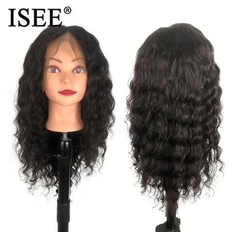 Brazilian Loose Deep Wave Wigs For Black Women Remy 150% Density 13X4 ISEE HAIR Wigs 13X6 Loose Deep Lace Front Human Hair Wigs Lahore