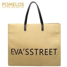 POMELOS Women Handbag Canvas Bag 2019 New Arrivals Shoulder Crossbody Bag For Women Ladies Hand Bags Messenger Fashion Big Tote