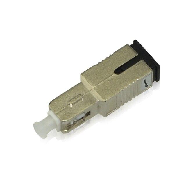 5PCS/bag SC PC female to male 10dB fiber optic Attenuator SC PC female male Fiber Optic Attenuator Free shipping
