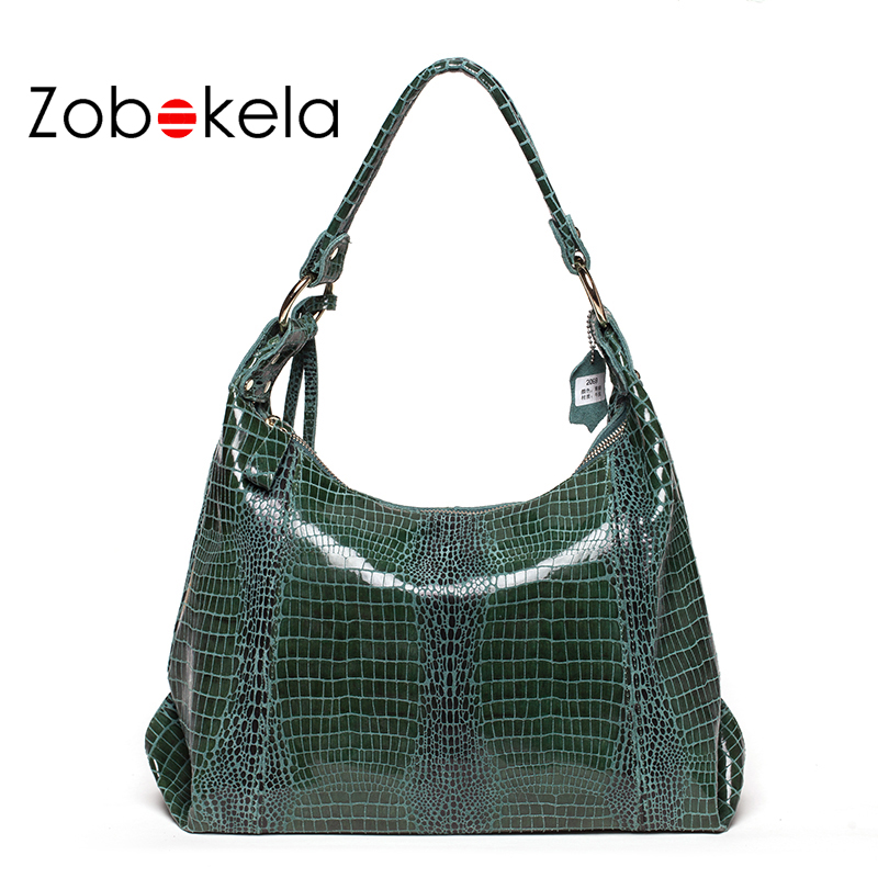 ZOBOKELA Women Genuine Leather Bag female luxury handbags Serpentine women Messenger bags designer Ladies Women shoulder Bag zobokela genuine leather women bag handbags designer women messenger bags leather shoulder bag handbag ladies bag women