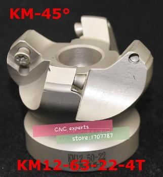 10PCS SEKT1204AFTN and 1PCS  KM12 63-22-4T 45 Degree Shoulder Face Mill Head CNC Milling Cutter,milling cutter tools