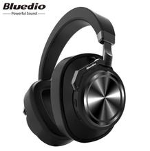 Bluedio T6 Active Noise Cancelling Headphones Wireless Bluetooth V4.2 Headphones with Microphone Stereo цена