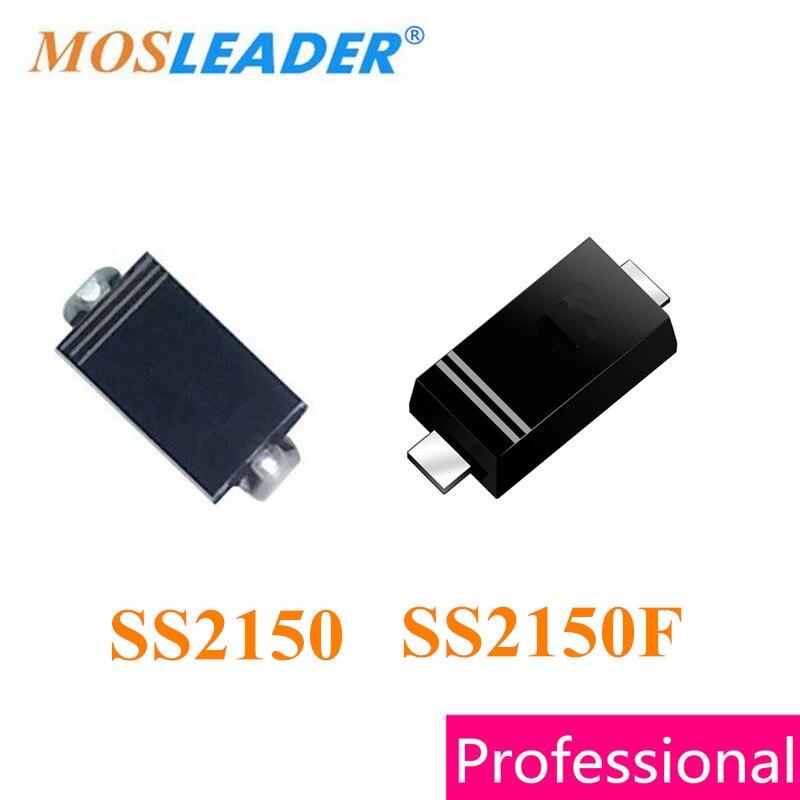 Mosleader SS2150 SMA 2000PCS SS2150F SMAF 3000PCS 2A 150V Schottky High quality mosleader dip pt908 7c f 1000pcs