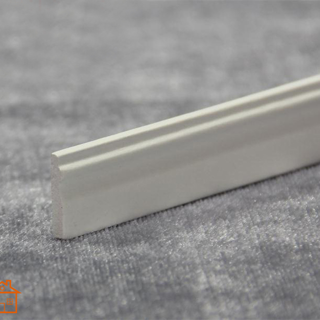 Baseboard Molding Dollhouse Miniature Trim Skirting Board 1 12 Scale Diy White And Wood Color B002