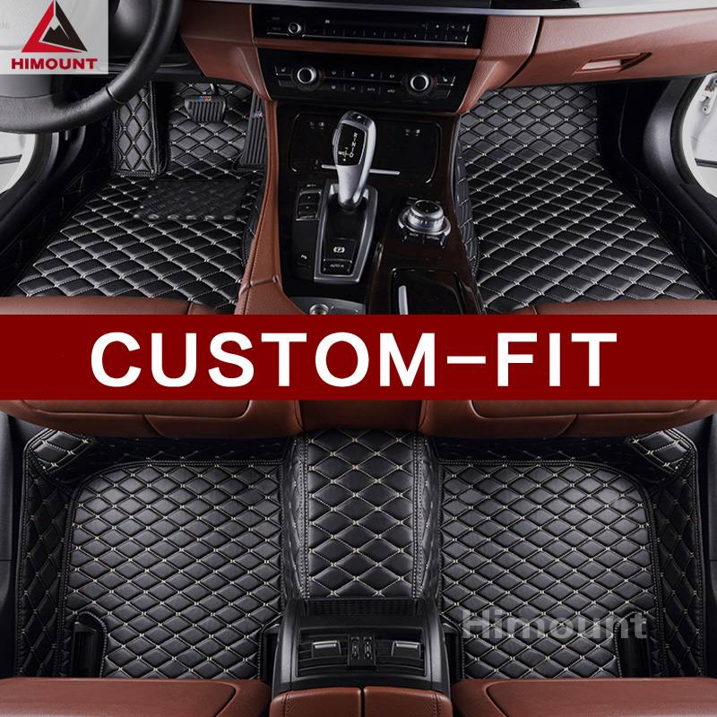 Car floor mat for Ford Fiesta Ecosport Focus Fusion Mondeo Kuga Escape Edge Explorer Mustang F-150 Raptor Navigator Expedition custom fit car floor mats for ford edge escape kuga fusion mondeo ecosport explorer focus fiesta car styling carpet liner ry39