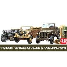 1/72 German US Airport Vehicle Kit with Oil Drum 13416