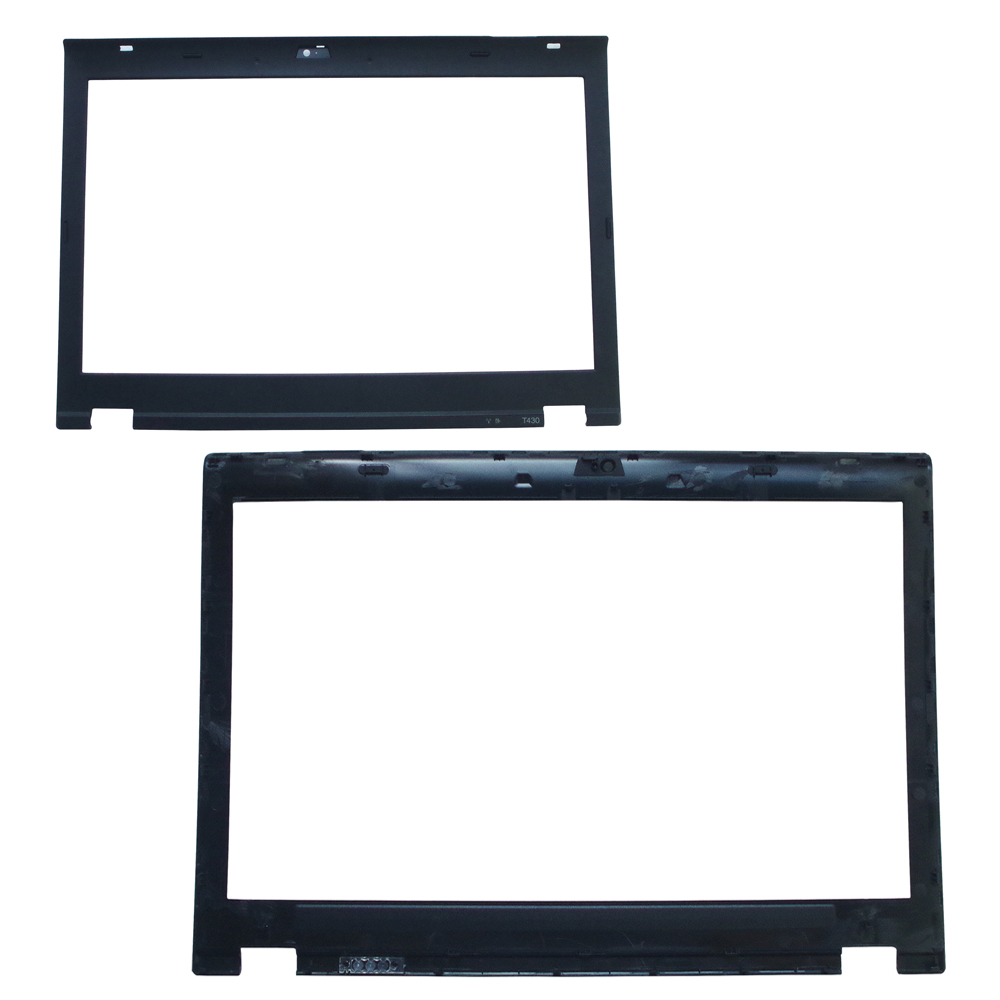 GZEELE New For <font><b>Lenovo</b></font> FOR Thinkpad <font><b>T430</b></font> T430I LCD Front Bezel Cover Camera Hole 04X0380 04Y1474 0C51603 image