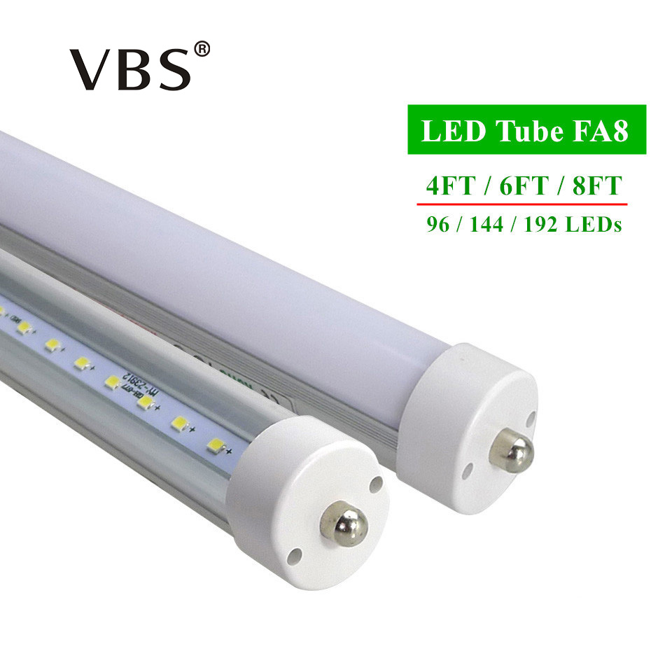 LED tubes FA8 T8 4ft 6ft 8ft Led Tube Lights High Super Bright Warm White Cool