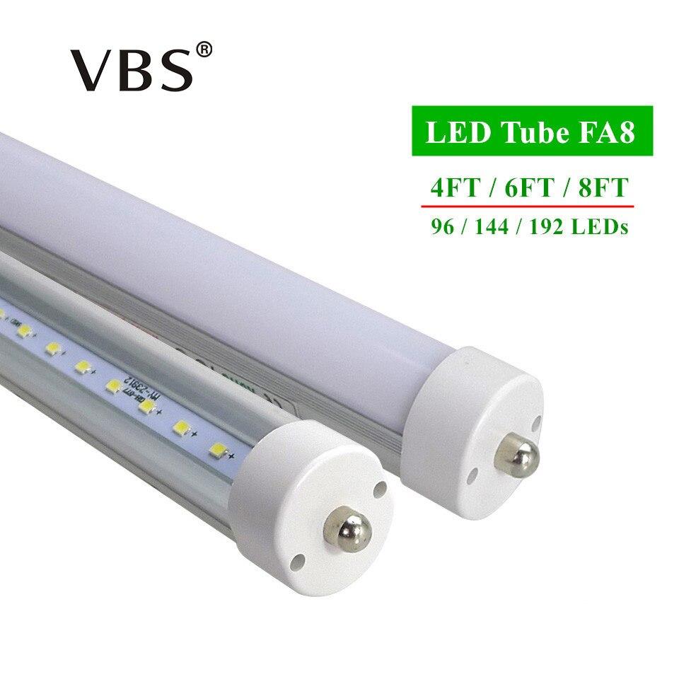 LED tubes FA8 T8 4ft 6ft 8ft Led Tube Lights High Super Bright Warm White Cool