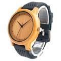 B05 Bobobird Relógio De Madeira De Bambu Das Senhoras de Quartzo Relógios de Luxo Com o Colorido Tiras de Silicone relojes marca de lujo mujer 2016