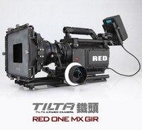 Новый Tilta Pro камера плечо установка клетка один фоллоу фокус + 4*5.65 Carbon Матовая коробка + чехол для Красный ONE MX камеры Бесплатная доставка