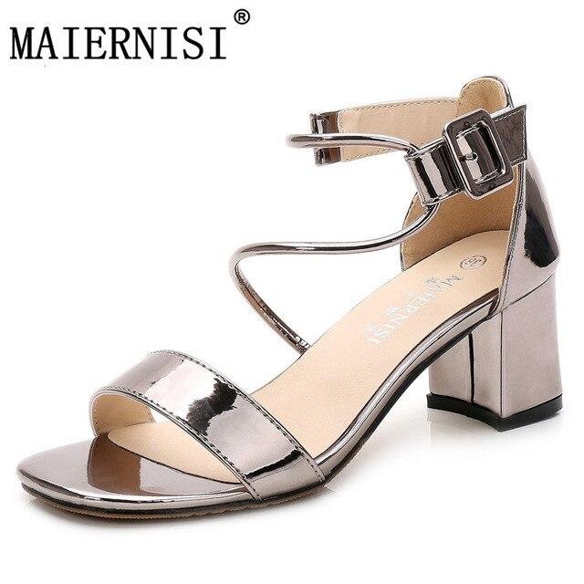 ed9ba7385 Brand Women Casual High Heel Sandals Square Toe Scarpin Luxury Designer  Pumps Sexy Thick Heels Lolita Valentine Shoes
