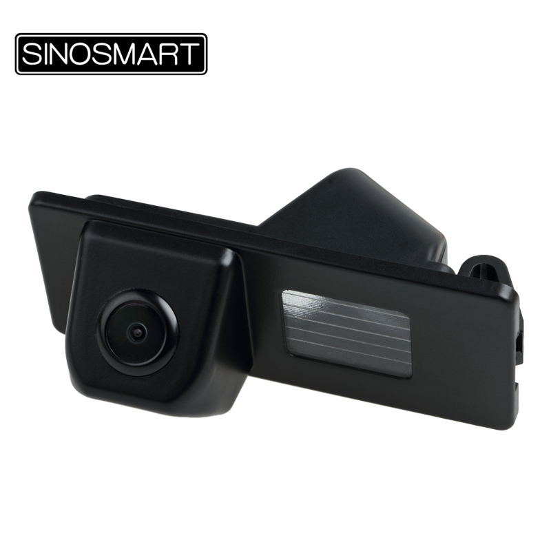 SINOSMART Backup Camera Fiat Freemont Firm-Installation Parking-Reversing Car HD Plastic