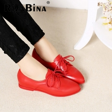 women real genuine leather party casual flats leisure shoes sexy fashion brand ladies shoes Zapatos Mujer size 34-39 R5558