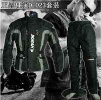 NEW DUHAN D 023 Men S Motorcycle Riding Suit Racing Jacket Racing Pants Suit With Removable