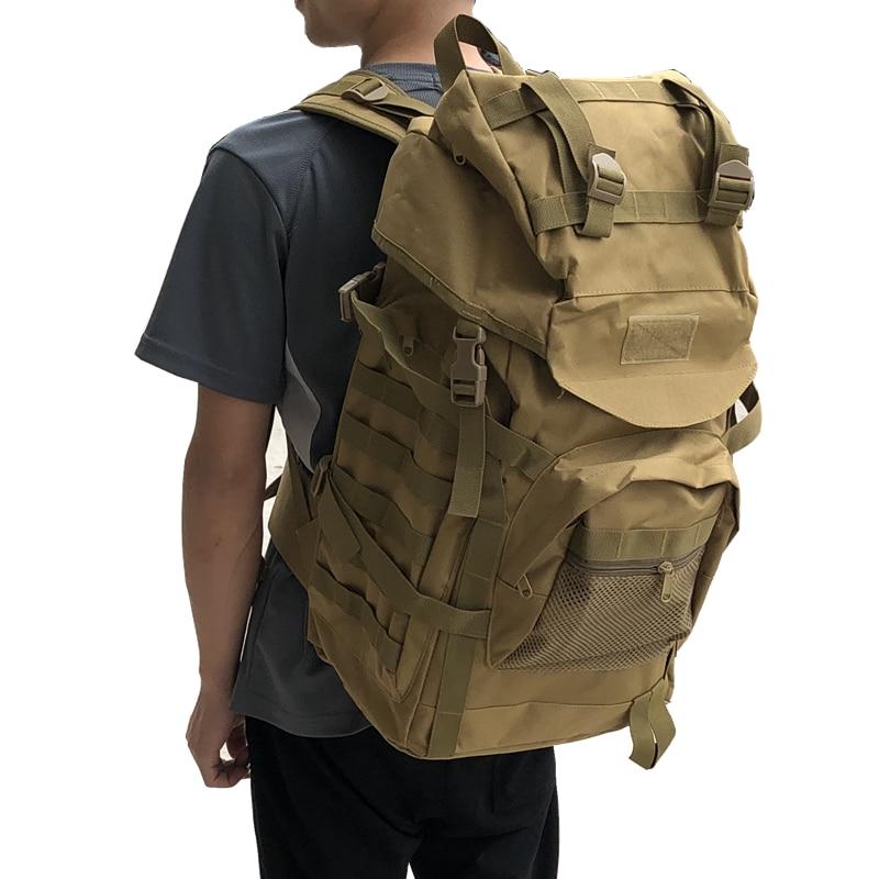 50L grand sac à dos tactique sac militaire armée sac à dos extérieur Camping hommes tactique militaire cyclisme randonnée Sports escalade sacs