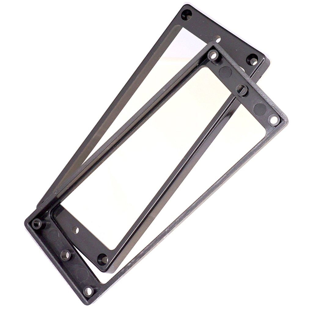 <font><b>8</b></font>-<font><b>String</b></font> <font><b>Guitar</b></font> <font><b>Parts</b></font> Plastic Humbucker Pickup Mounting Ring for Replacement image
