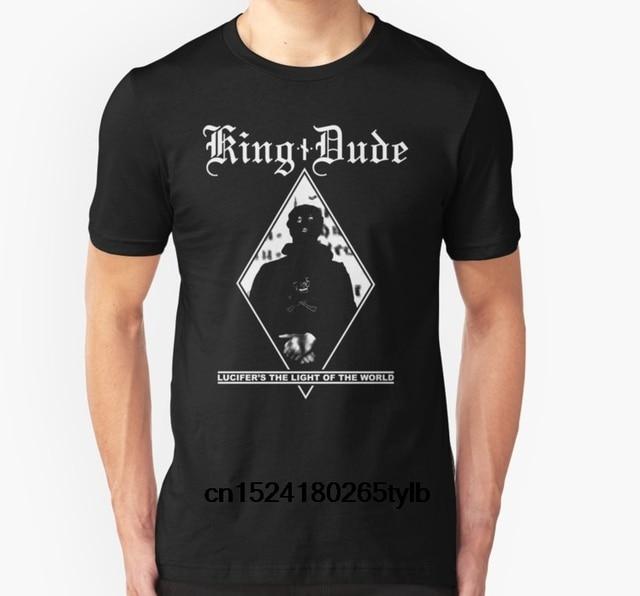 bc34b245c4ba Fashion Cool Men T shirt Women Funny tshirt King Dude (Masked LTLOTW)  Customized Printed T-Shirt