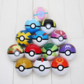 13Pcs/Lot Pokeball Pikachu PVC Toys Pokeball Master Great Ash Ball Action Figure Models 7cm