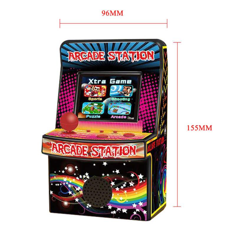 Portable rétro Mini Arcade Console de jeu de poche 8 bits 2.5 pouces LCD couleur écran jeu Arcade construit en 240 jeux classiques pour les enfants