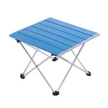 Ultra-Light Outdoor Travel Portable Table Foldable Folding Barbecue Table Camping Table Picnic Camping Hiking AluminiumAlloyDesk 70 70 69cm aluminum alloy folding table portable outdoor barbecue table camping table picnic desk