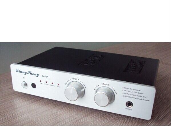 Xiangsheng DAC-03 à distance DAC AK4118 + AK4495 + OPA2604AU * 3 + SA9023 Casque amplificateur télécommande décodeur XMOS