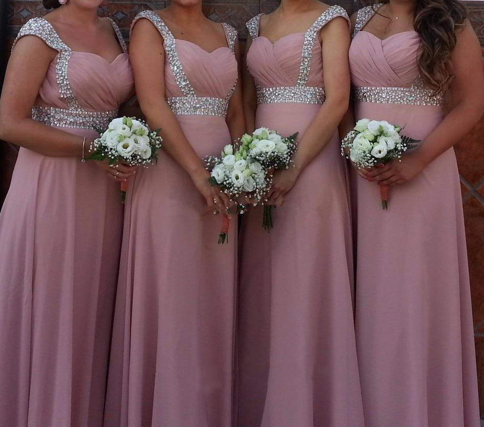 Stock Clear Cheap A-line Sweetheart Elegant Off-shoulder Cheap Bridesmaid Dresses Wedding Party Dresses Robe De Soiree