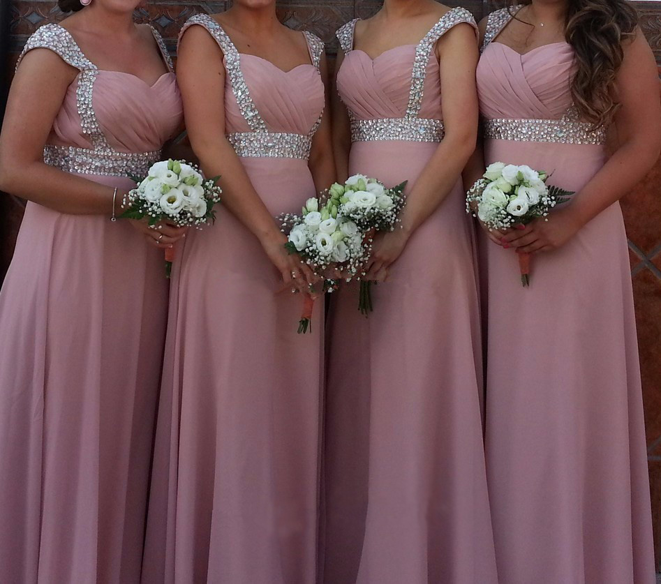 Stock Clear Cheap A-line sweetheart elegant off-shoulder cheap   bridesmaid     dresses   Wedding party   dresses   robe de soiree