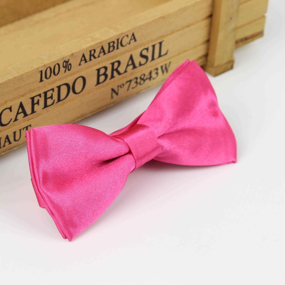 Детский Модный деловой классический однотонный костюм с бабочкой для свадебной вечеринки, Детский костюм, смокинг, галстук-бабочка для домашних питомцев - Цвет: 27