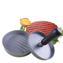 1Set Aluminium Alloy Hamburger Maker Meat Press Plastic Handle Kitchen Tools