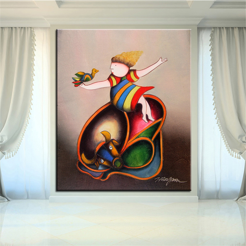 ٩(^‿^)۶Large sizes NO-703 Classic Portrait Wall painting canvas for ...