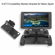 Crystalsky Tablet Bracket for DJI Mavic Pro Platinum Mavic Air Spark Drone 5.5 7.85 Inch Remote Controller Mount Monitor Holder